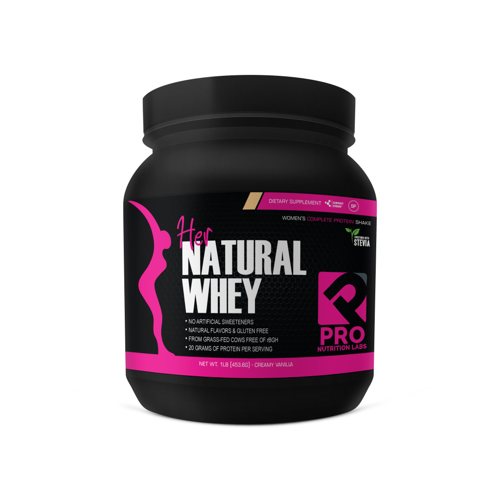 Pro Nutrition Labs Releases Her Natural Whey Protein Powder for Women