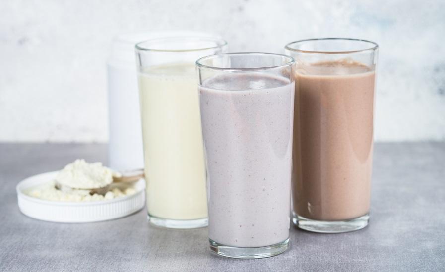 protein powder shake
